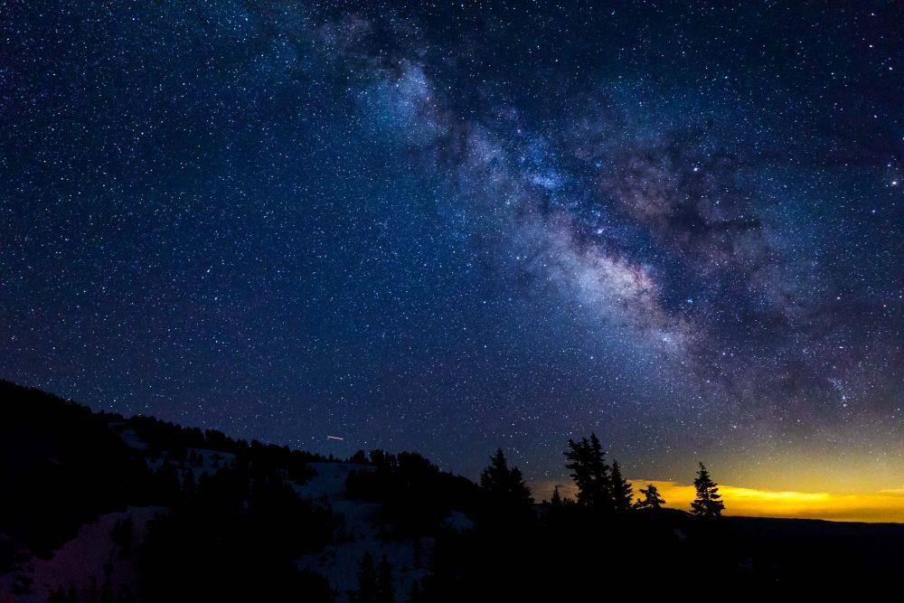 Milky way, Lassen National Park
