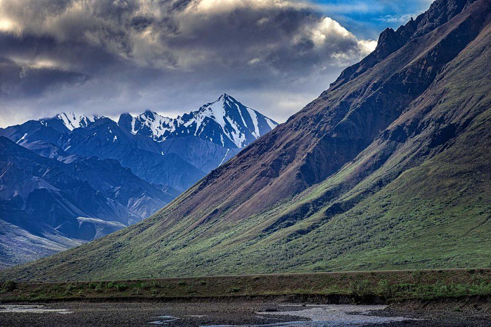 Brewing storm in Alaska