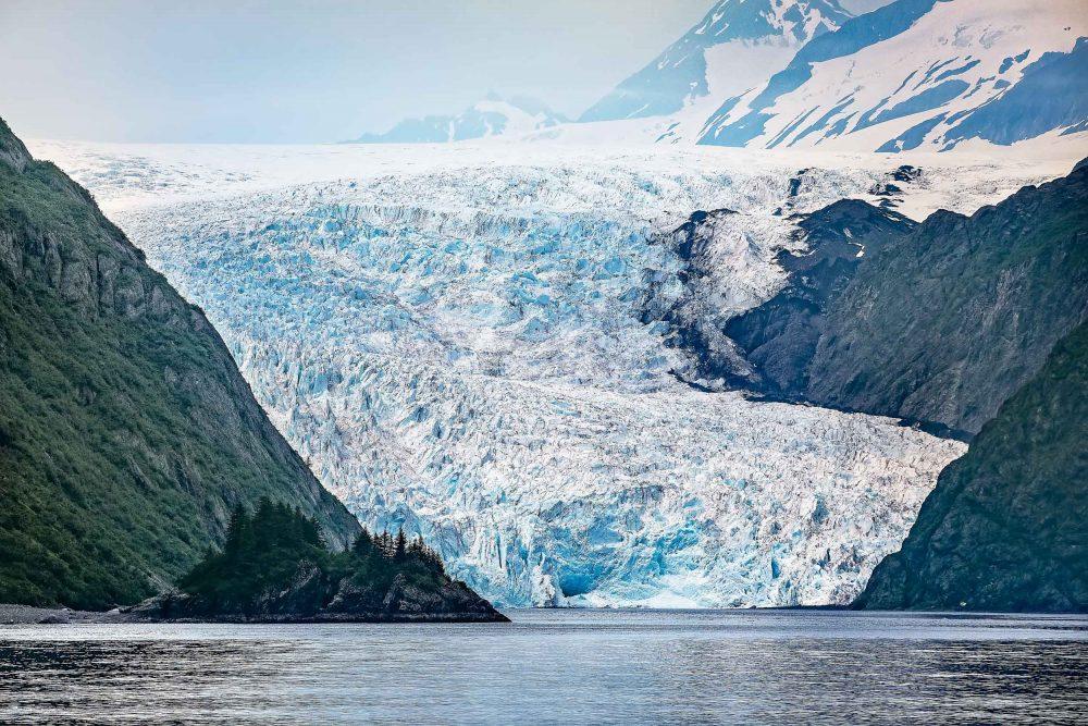 Glacier in Alaska, prints for sale
