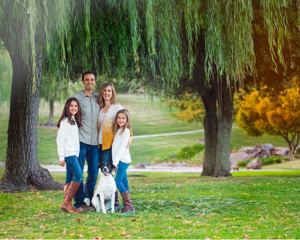 film style family photos