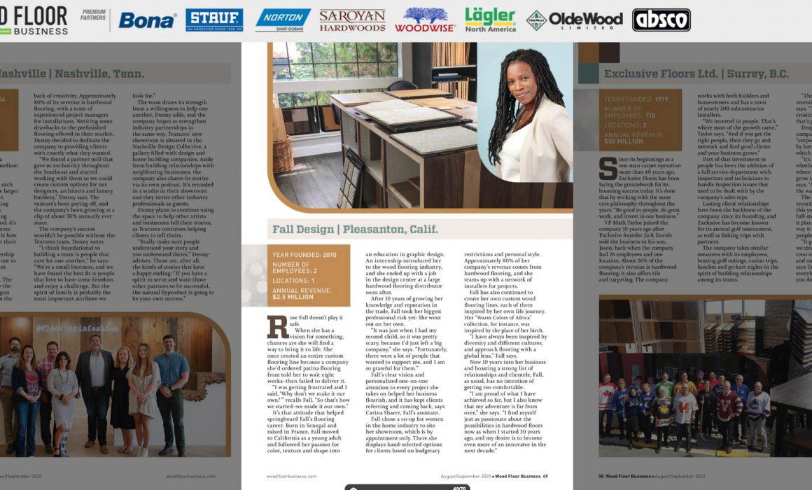 Rose Fall Designs headshots magazine publish